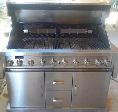 Long Beach CA BBQ Grill Cleaning